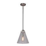 Mariana Home - Harper One Light Pendant - Silver Finish - 230145