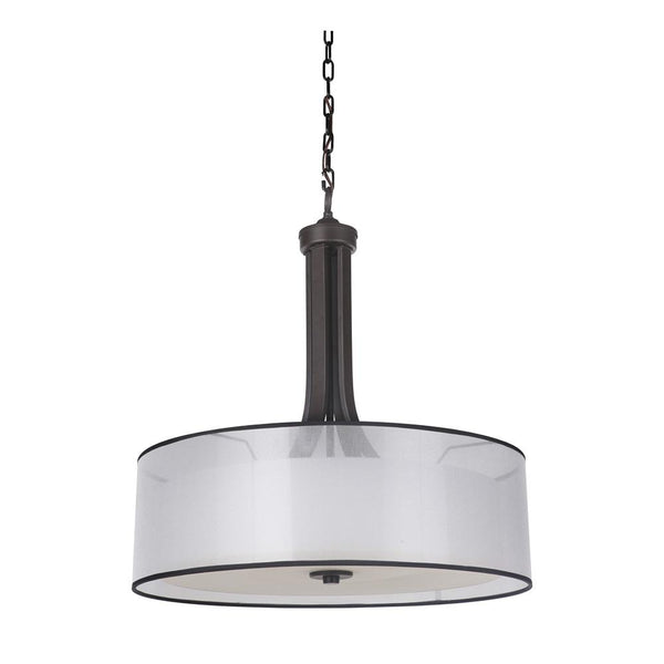 Mariana Home - Hudson Four Light Pendant - Bronze Finish - 270083