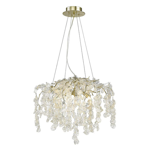 Mariana Home - Chloe Four Light Semi-Flush Mount - Silver Finish - 270424
