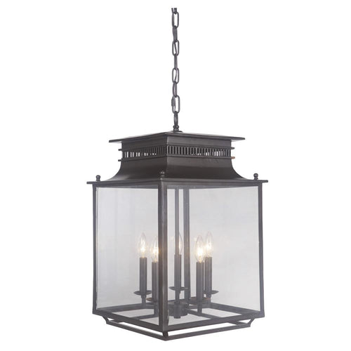 Mariana Home - Allison Five Light Lantern - Bronze Finish - 270583