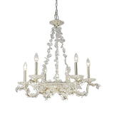 Mariana Home - Chloe Six Light Chandelier - Silver Finish - 270624