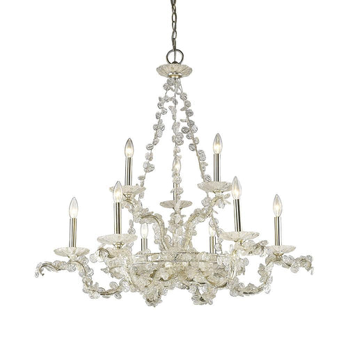 Mariana Home - Chloe Nine Light Chandelier - Silver Finish - 270924