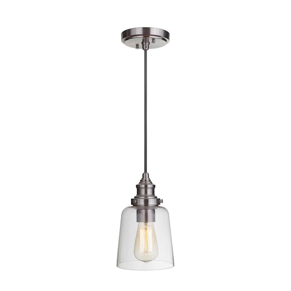 Mariana Home - Tobias One Light Pendant - Silver Finish - 290145