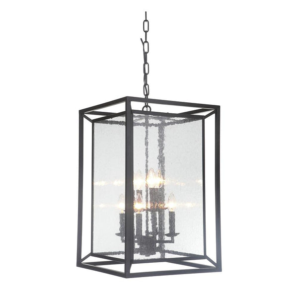 Mariana Home - Edward Eight Light Pendant - Bronze Finish - Modern Farmhouse - 308883