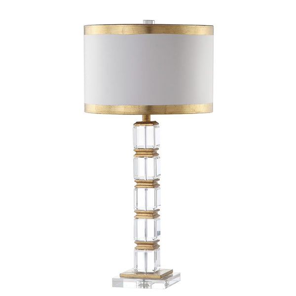Mariana Home - Isabella Table Lamp - Crystal Base and Gold Leaf Finish - 310012