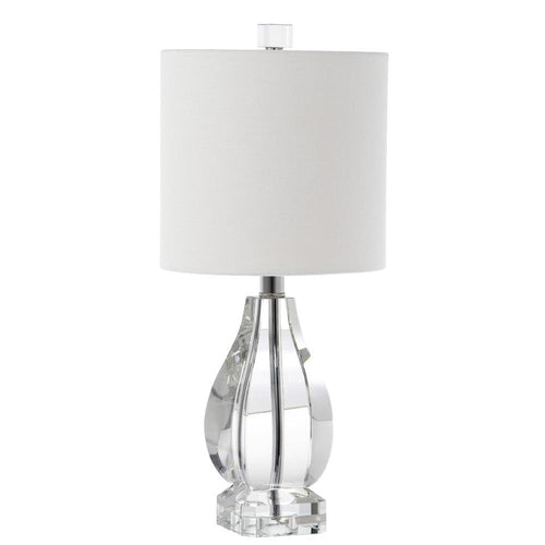 Mariana home eva one light table lamp clear finish crystal 320002