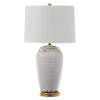 Mariana Home - Audrey One Light Table Lamp - Ivory Ceramic - Gold Finish - 320005