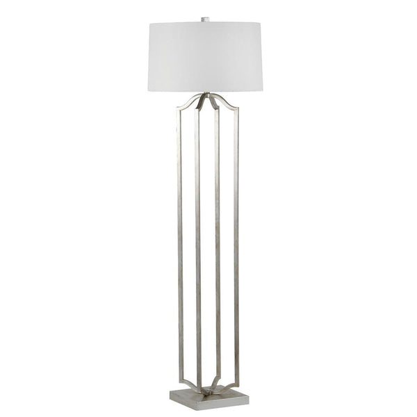 Mariana Home - Deacon One Light Floor Lamp - Silver Leaf Finish - 320010