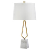 Mariana Home - Anabelle Table Lamp - Antique Brass Finish - Marble Base - 320023
