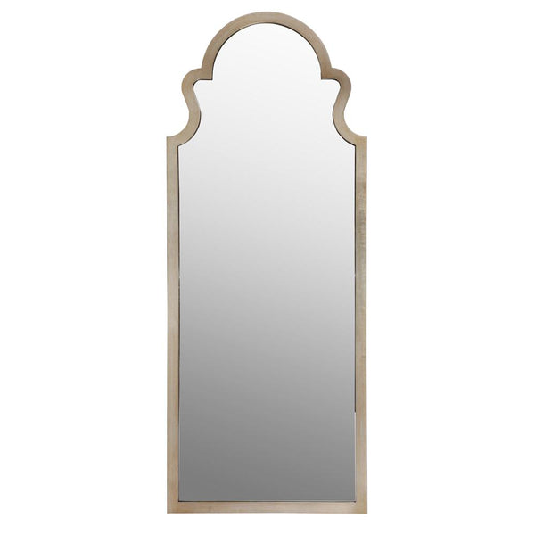 Mariana Home - Framed Rectangle Antique Champagne Floor Mirror - 340025