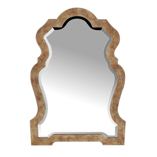Mariana Home - Framed Rectangle Vintage Wall Mirror - Antique Gold Finish - 2340028