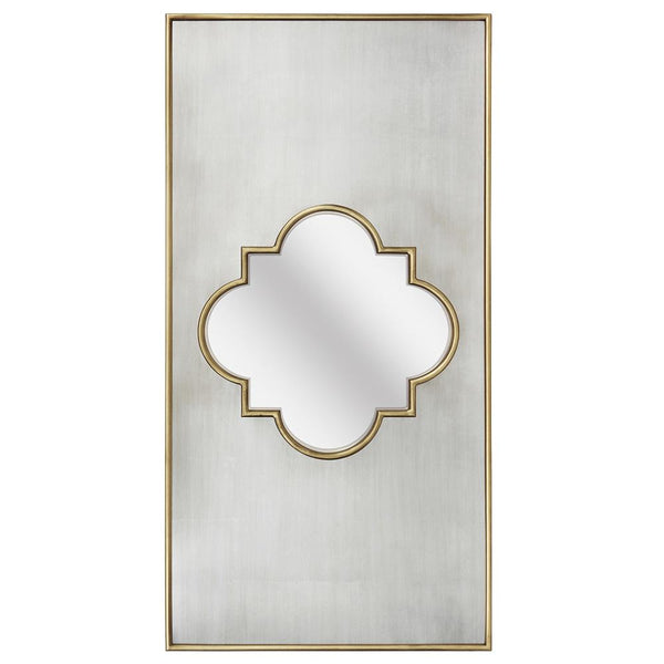Mariana Home - Framed Rectangle Aubrey Wall Mirror - Gold and Champagne Finish - 340053