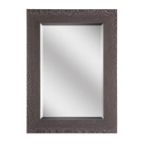 Mariana Home - Framed Rectangle Nolan Mirror - Wooden Finish - 340059