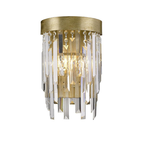 Mariana Home - Spectrum One Light Wall Sconce - Champagne Finish with Glass Accents - 380165