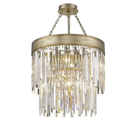 Nicola 5 Light Chandelier - Urban Bronze