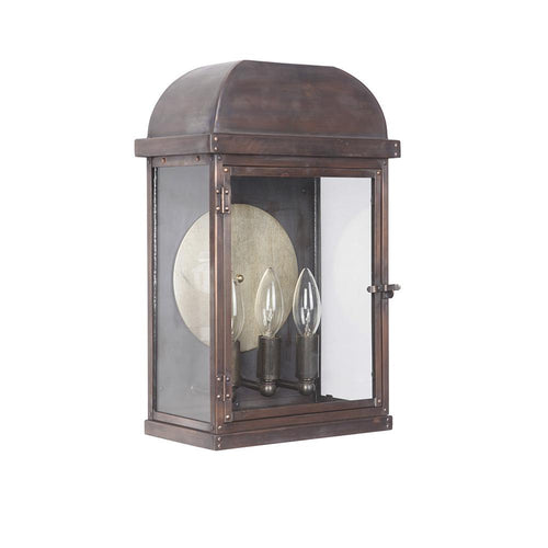 Mariana Home - Colton Three Light Outdoor Wall Lamp/Sconce - Copper Finish - Farmhouse - 381032