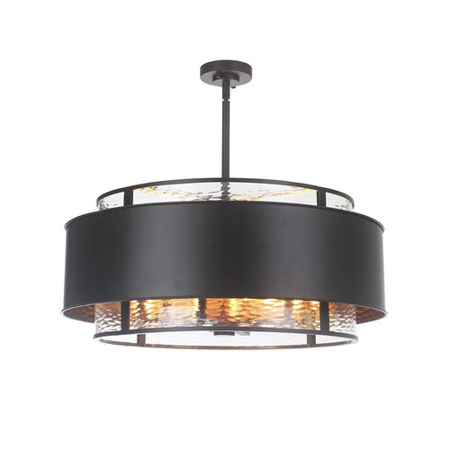 Mariana Home - Jupiter Six Light Pendant Chandelier - Bronze Finish - 393083
