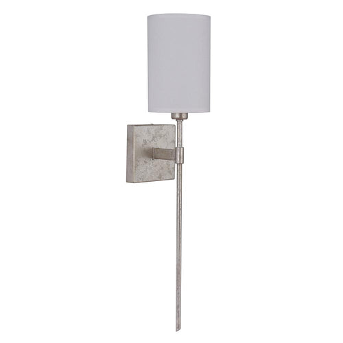 Mariana Home - Vivienne One Light Sconce - Silver Leaf Finish - 400114