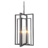 Mariana Home - Suri Five Light Pendant - Bronze with Champagne Candlestick Finish- 430584