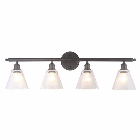 Elba 3 Light Vanity - Bronze
