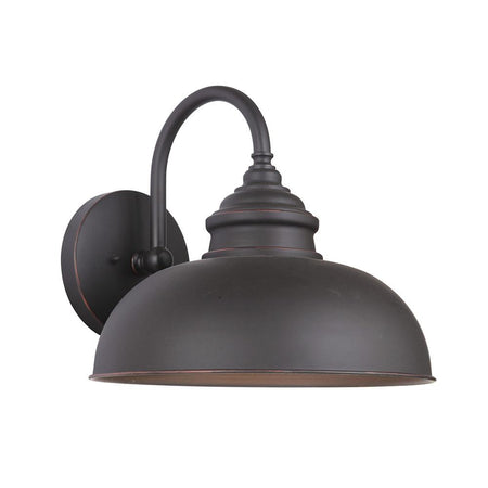 Crandall 2 Light Outdoor Lantern - Black