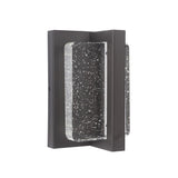 Mariana Home - Charles Outdoor Wall Lamp/Sconce - Oil Rubbed Bronze - Seeded Glass - LED - 505116