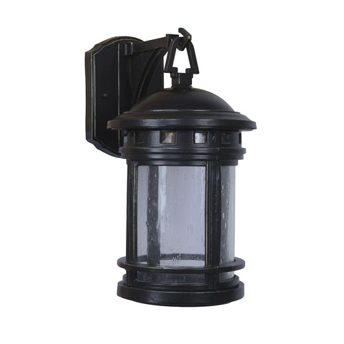 Mariana Home - Small Revere One Light Outdoor Wall Sconce - Heritage Bronze Finish - Lantern - 507168