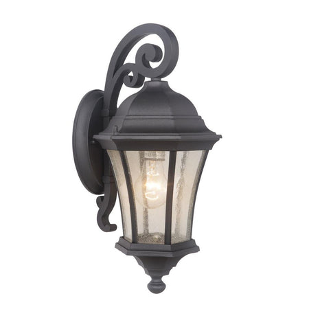 Seneca One Light Small Outdoor Wall Lantern - Bronze