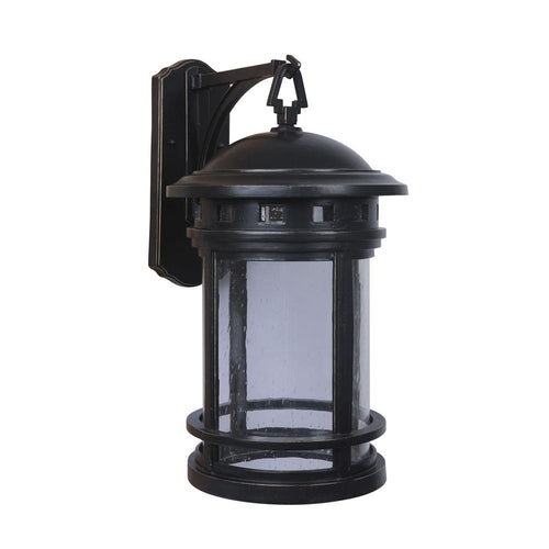 Mariana Home - Large Revere One Light Outdoor Wall Sconce - Heritage Bronze Finish - Lantern - 511168