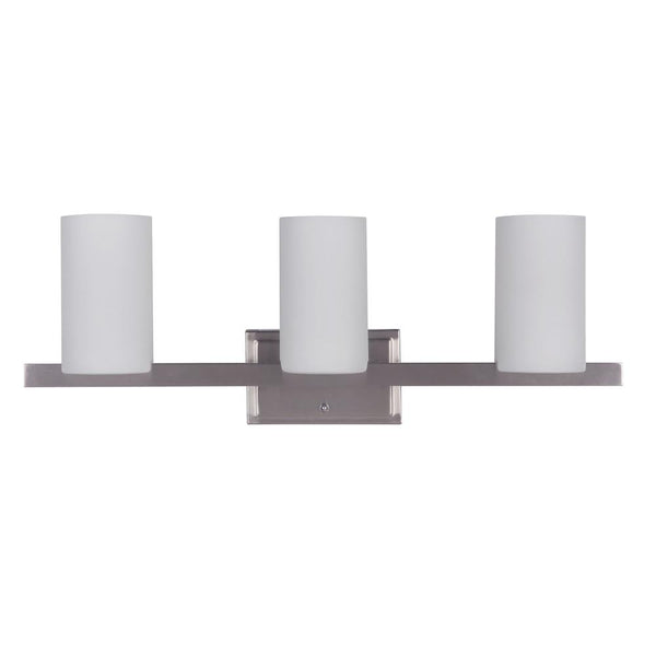 Mariana Home - Urban Three Light Bathroom Vanity Sconce - Silver Finish - 540345