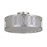 Mariana Home - Raylan Three Light Semi-Flush Mount - Champagne Finish - 561814