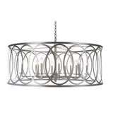 Mariana Home - Tenille 12 Light Chandelier - Antique Silver Leaf Finish - 564814