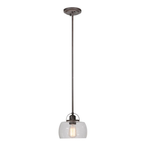 Mariana Home - One Light Industrial Solo Pendant - Bronze Finish - 600173