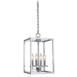 Mariana Home - Graham Four Light Pendant - Polished Nickel Finish - 600405