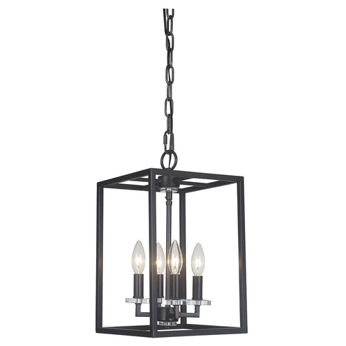 Mariana Home - Graham Four Light Pendant - Bronze Finish - 600473
