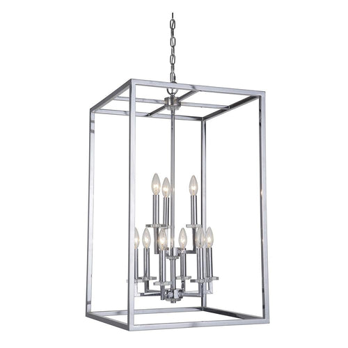 Mariana Home - Graham Nine Light Pendant - Polished Nickel Finish - 600905