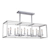 Mariana Home - Gaila 12 Light Kitchen Island Pendant - Chrome Finish - 601205
