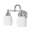 Mariana Home - Two Light Artisan Bath Vanity Sconce - Nickel Finish - 628205