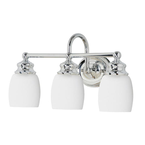 Mariana Home - Three Light Artisan Bath Vanity Sconce - Nickel Finish - 628305