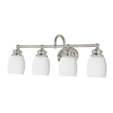 Mariana Home - Four Light Artisan Bath Vanity Sconce - Nickel Finish - 628405