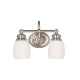 Mariana Home - Artisan Two Light Bath Vanity - Satin Nickel Finish - 629245