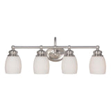 Mariana Home - Artisan Four Light Bath Vanity - Satin Nickel Finish - 629445