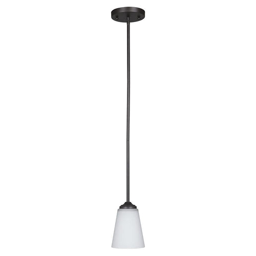 Mariana Home - Hugo One Light Pendant - Urban Bronze Finish - 630183