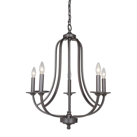 Highshore 4 Light Semi Flush Mount - Bronze