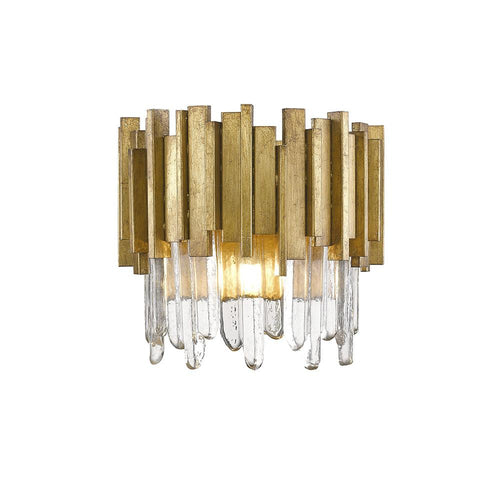 Mariana Home - Lena One Light Wall Sconce - Gold Leaf - 650146