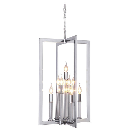 Mariana Home - Adela Nine Light Pendant - Chrome Finish - 700905