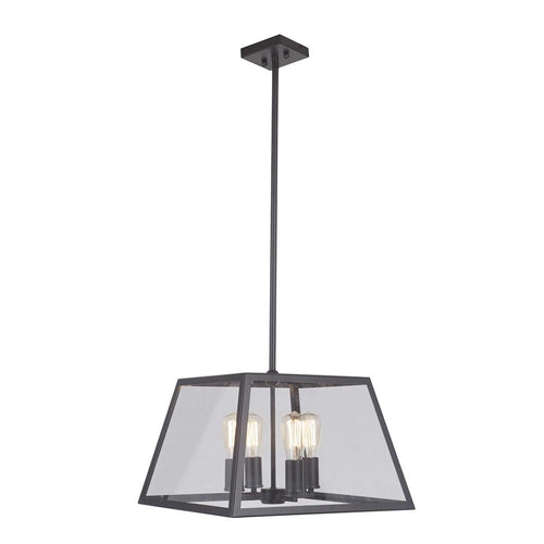 Mariana Home - Branson Four Light Pendant - Bronze Finish - 730473