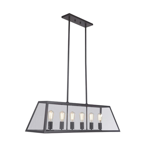 Mariana Home - Branson Six Light Pendant - Bronze Finish - 730673