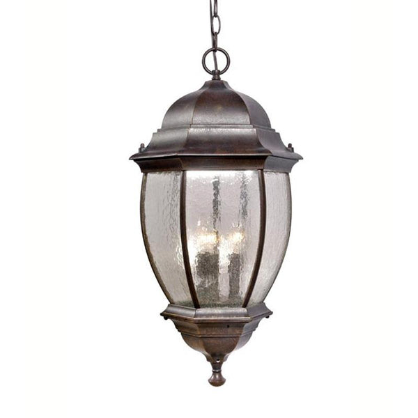 Mariana Home - Three Light Hanging Outdoor Lantern - Bronze Finish - 813237