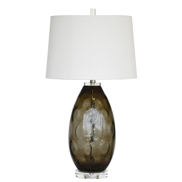 Mariana Home - Denzel Table Lamp - Taupe Glass - 830023